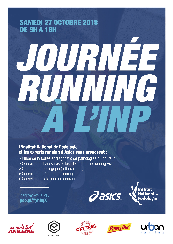 affiche journée running INP/1SICS